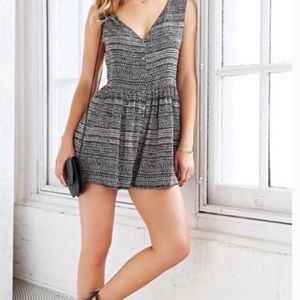 URBAN OUTFITTERS tribal dotted print romper Ecote
